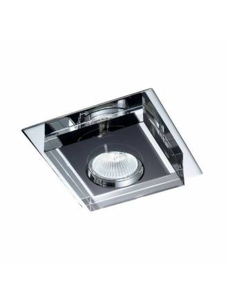 CRISTALRECORD Lunne square recessed light black
