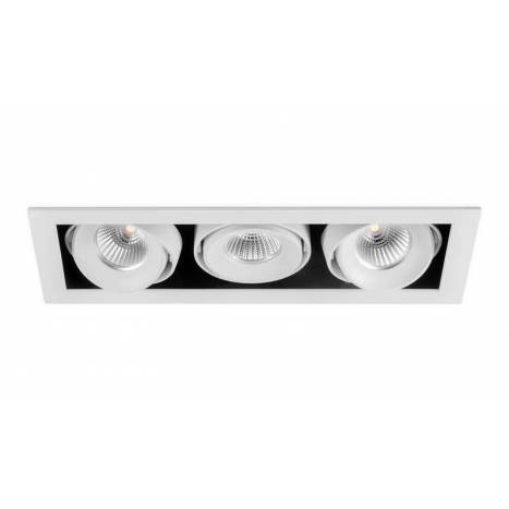 Foco empotrable Orbital Mini 3 blanco - Arkoslight