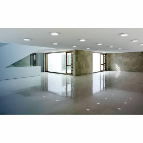 Plafón de techo Sky LED aluminio blanco - Arkoslight
