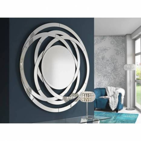 Espejo de pared Aros redondo - Schuller