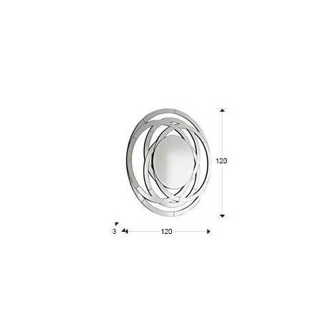 Schuller Aros wall mirror circular