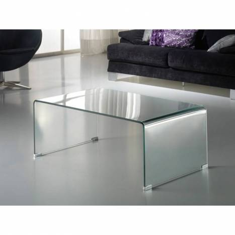 SCHULLER clear coffe table Glass