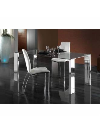 Schuller dining table Malibu 180x90 glass