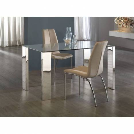 Schuller Calima dining table 160x90 glass