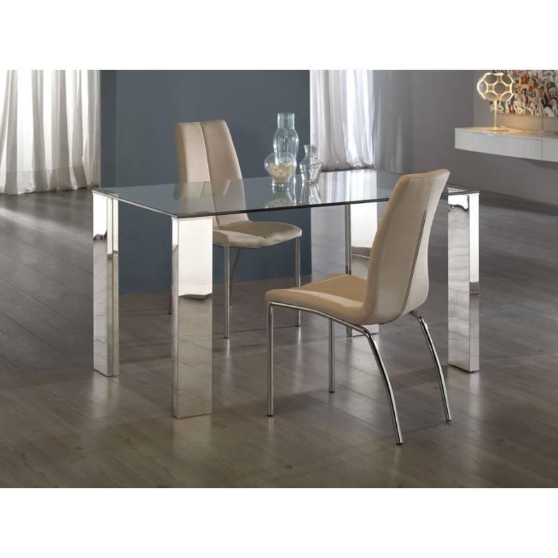 Schuller dining table calima 160x90 glass - Sofas en europolis ...