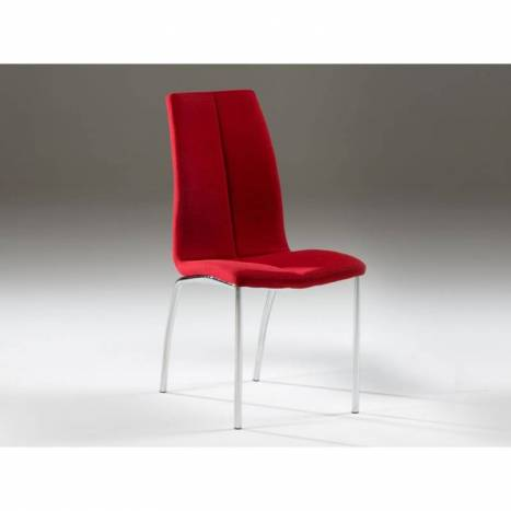 Schuller chair Malibu red color