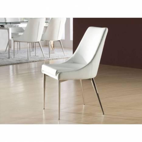 SCHULLER chair Dublin white color