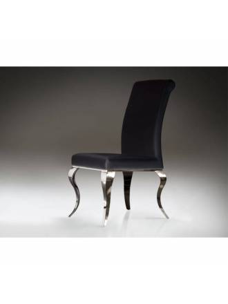 Schuller chair Barroque black color