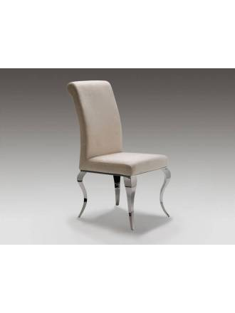 Schuller chair Barroque grey color