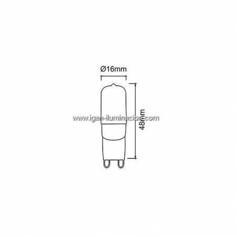 Bombilla LED 3w G9 Plus - Maslighting