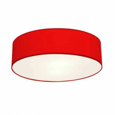 AROMAS NA762 ceiling lamp 2L red fabric