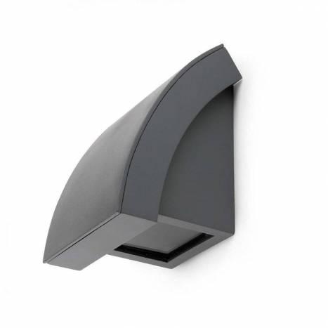 Aplique de pared Proa 1L GU10 gris - Faro