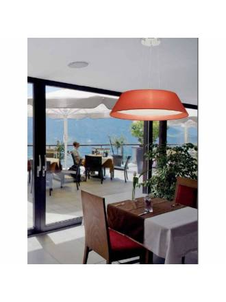 EL TORRENT Ayda pendant lamp 2L fabric
