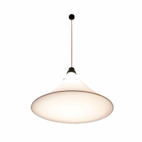EL TORRENT Flux pendant lamp LED 17w white fabric