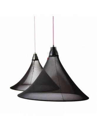 EL TORRENT Flux pendant lamp LED 17w black fabric