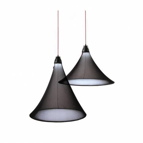 Lámpara colgante Flux LED 17w negro - El Torrent