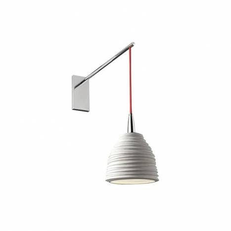 EL TORRENT Citric wall lamp 1L porcelain