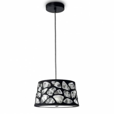 EL TORRENT Brunz pendant lamp 1L triple shade
