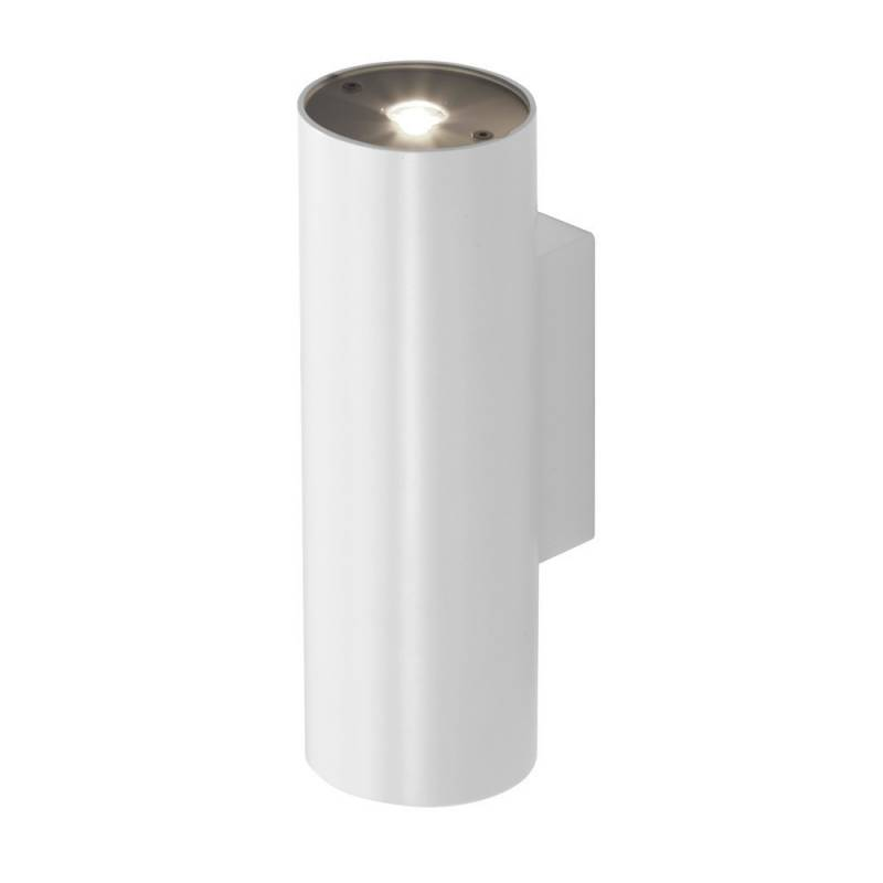 Aplique de pared Pipe LED 2x6w blanco de Leds C4