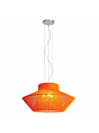 EL TORRENT Koord pendant lamp 3L orange