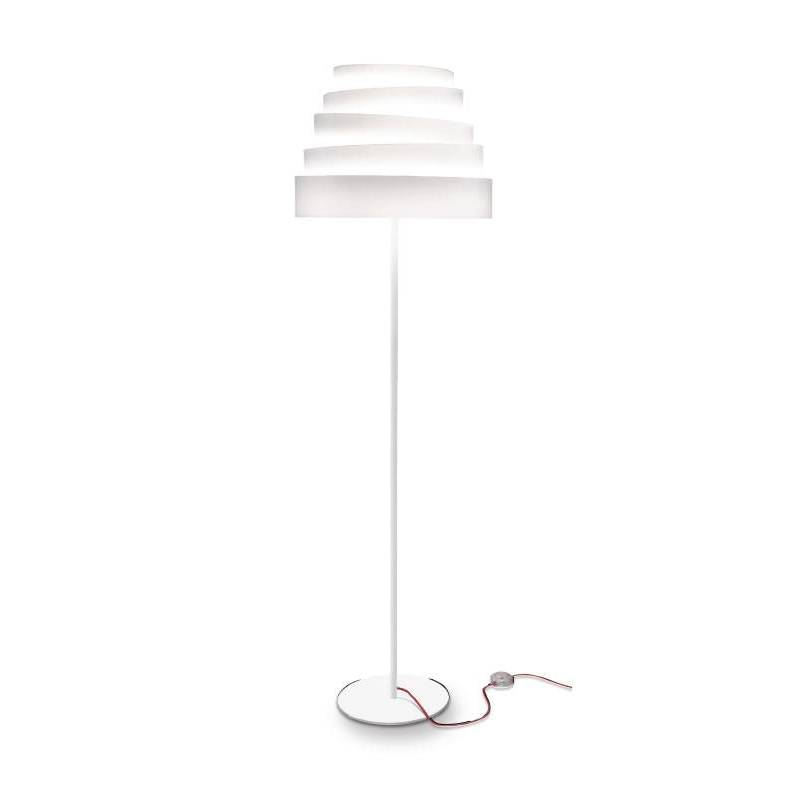 MASSMI Blur floor lamp white fabric