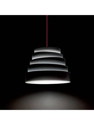MASSMI Blur pendant lamp black fabric