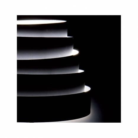 Lámpara colgante Blur tela negra - Massmi