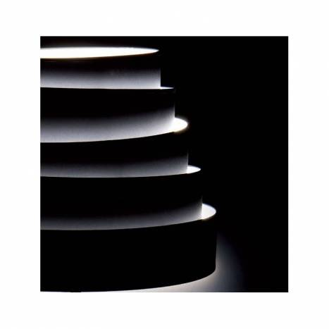 MASSMI Blur pendant lamp black fabric