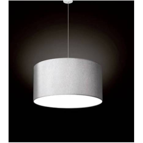 MASSMI Satin pendant lamp fabric grey