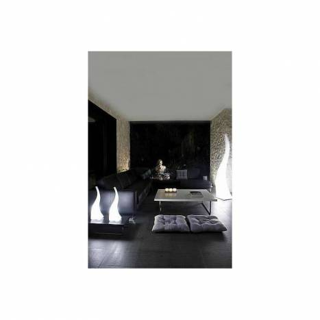Mantra Flame floor lamp 4 lights IP44 polycarbonate