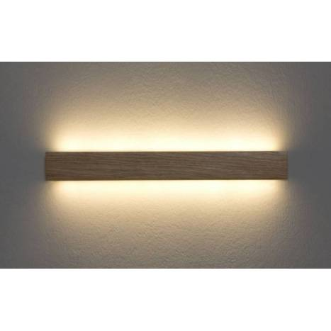 Aplique de pared manolo led 15w madera ole - Apliques pared modernos ...