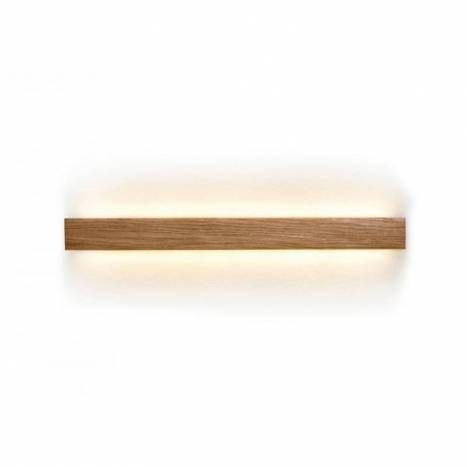 Aplique de pared Manolo LED madera - Ole