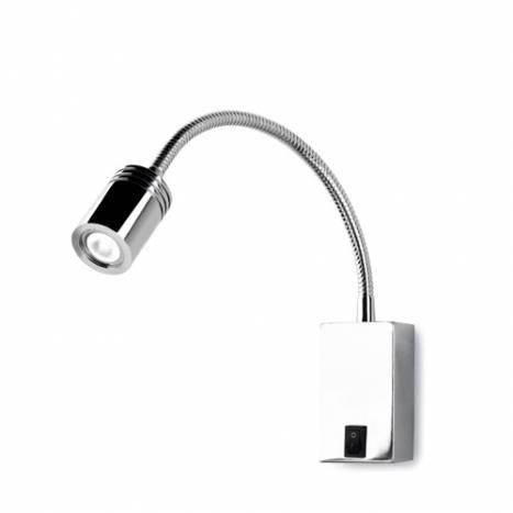 LEDS-C4 Book wall lamp LED 3w chrome