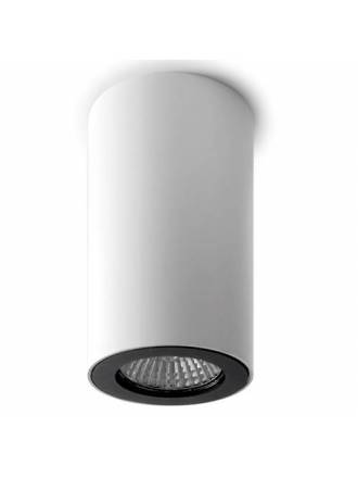Foco de superficie Pipe 1 luz blanco - Leds C4