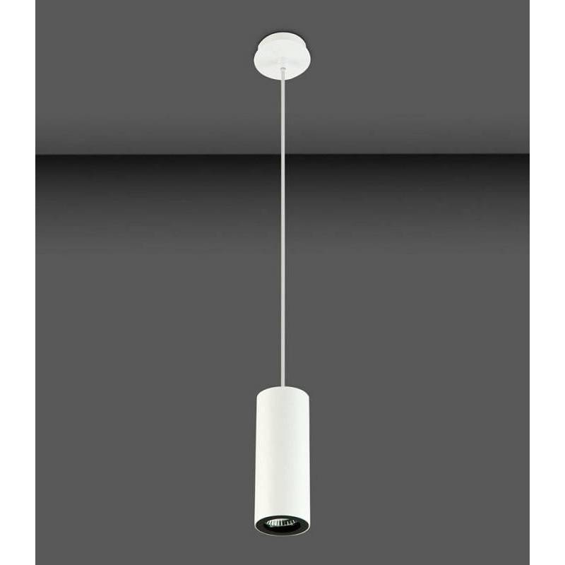 Leds C4 Pipe Pendant Lamp 1l Gu10 White