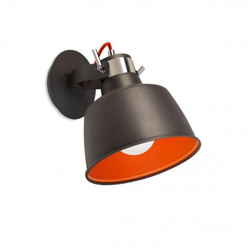 LEDS-C4 Vintage wall lamp aged grey