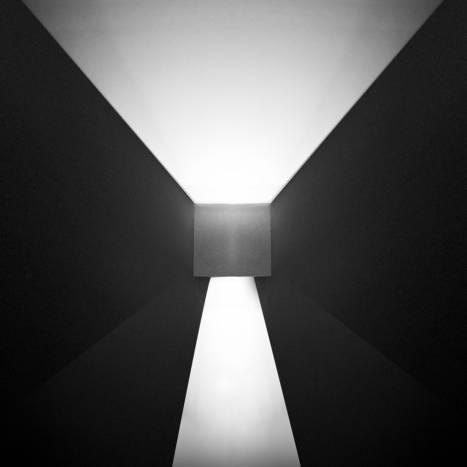 LEDS-C4 Kub wall lamp LED 4w white