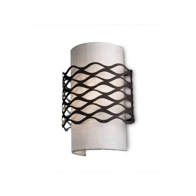 LEDS-C4 Alsacia wall lamp 2L oxide brown