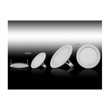 MASLIGHTING Downlight LED 8w round white
