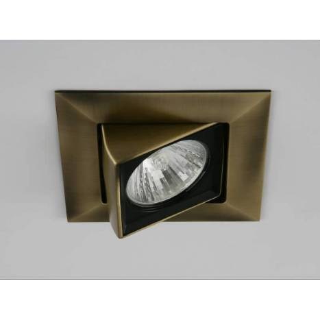 OLE by FM Kubic square recessed light antique