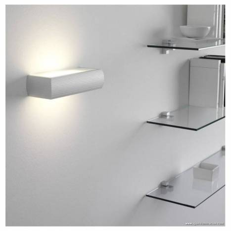 OLE by FM Aluminium wall lamp E27