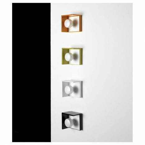 Aplique de pared Bis IP44 colores - Ole
