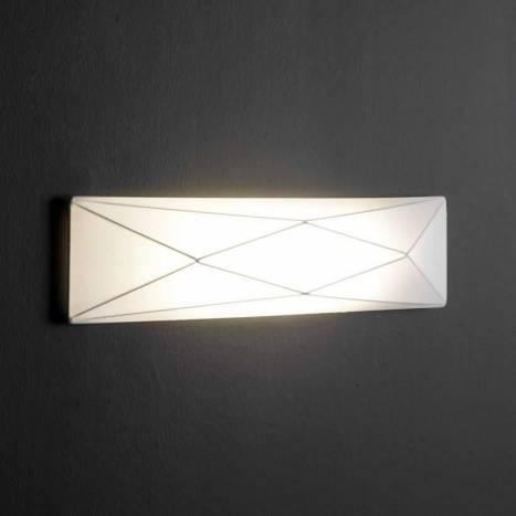 Aplique de pared Polaris 2 luces tela - Ole