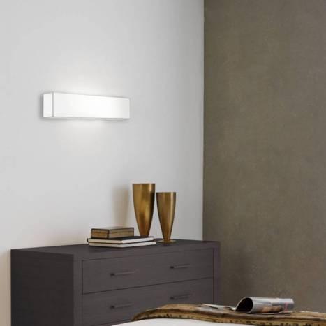 Aplique de pared Block Deco 2 luces tela - Ole