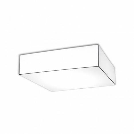OLE by FM Block ceiling lamp 60x60 white fabric