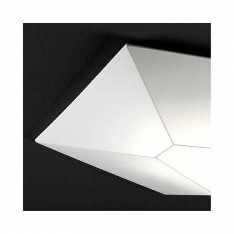 Plafón de techo Halley tela blanca - Ole