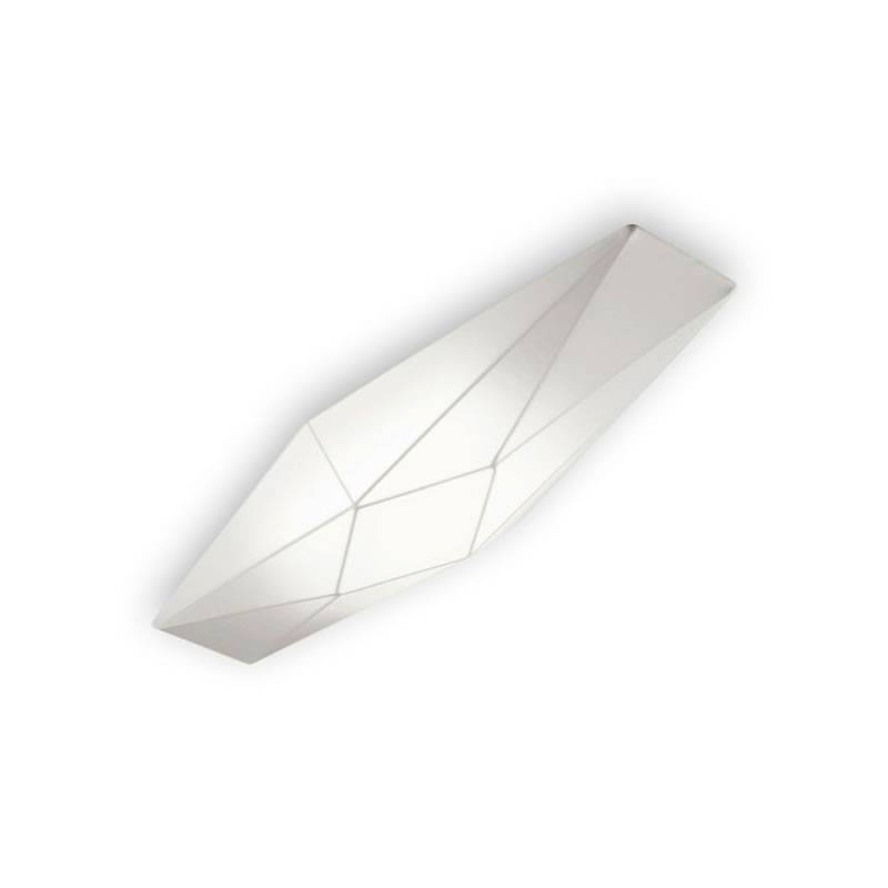 OLE by FM Polaris ceiling lamp 90cm white fabric