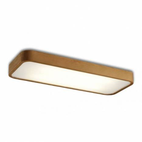 OLE by FM Nature ceiling lamp 76cm wood