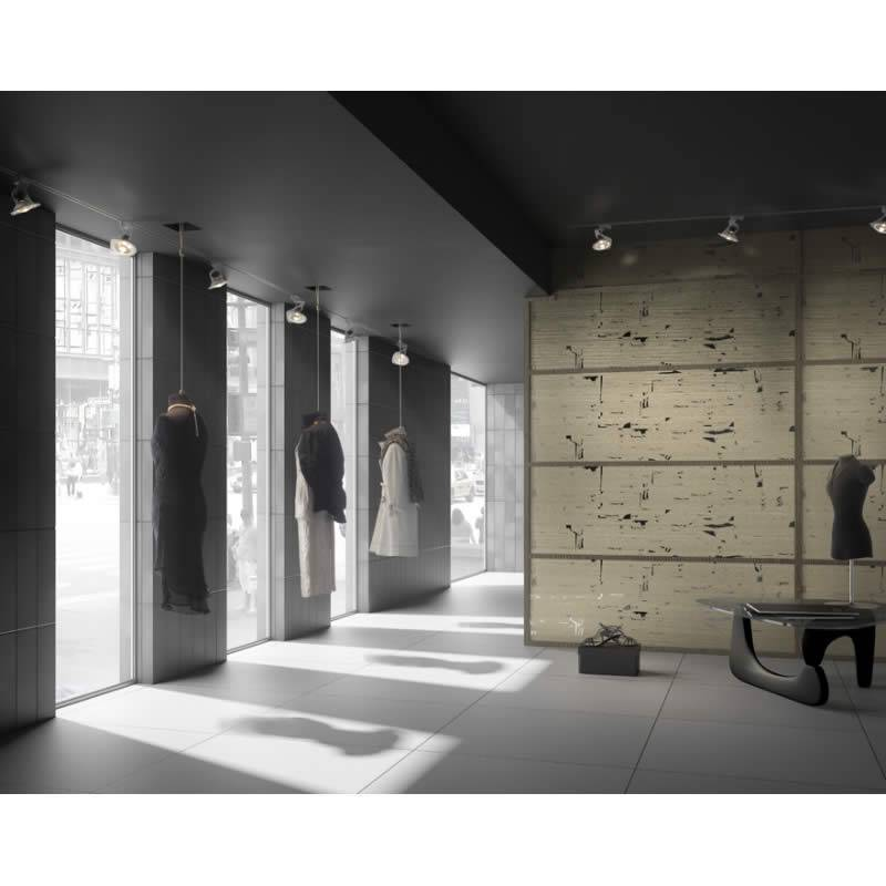 Foco de superficie fox gu10 aluminio negro ole - Focos iluminacion interior ...
