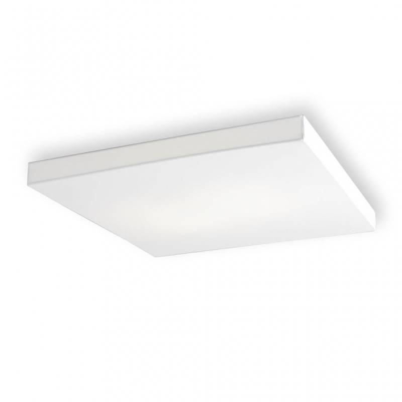 OLE by FM Block New ceiling lamp 80x80 white fabric
